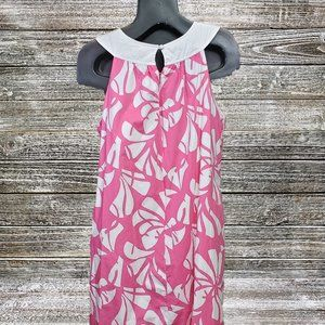 Lilly Pulitzer Dresses - Lilly Pulitzer | Shift Dress Floral Pink & White